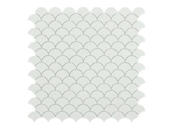Galapagos White Matt Mosaics