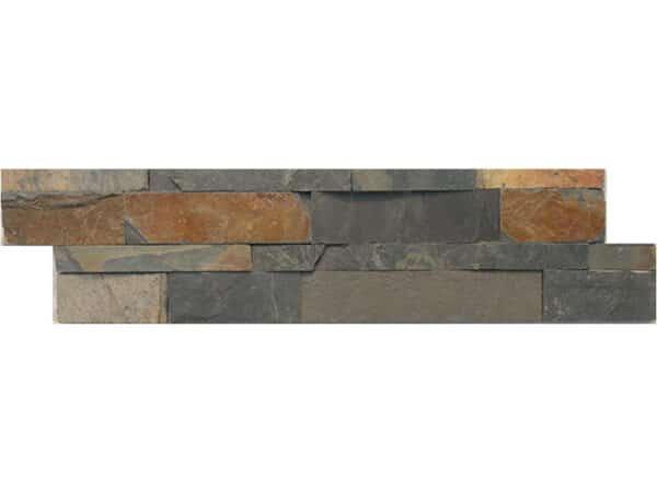 Split Face natural slate river tiles