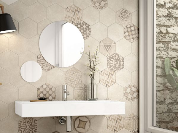 Hexagon Kitchen Wall Tiles