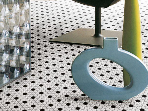 Mosaic Hexagon Floor Tiles