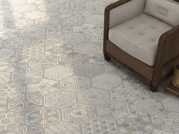 Rift Hexagon Floor Tiles