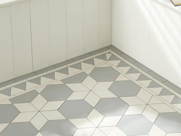 Victorian Hexagon Floor Tiles