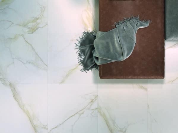 Marmo Gold Stone Effect Floor Tiles