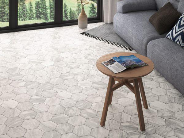 Marmo Marble Effect Porcelain Kitchen Tiles