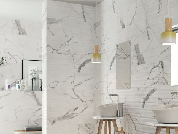 Marmo Marble Effect Ceramic Wall Tiles
