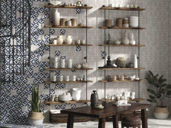Deco Fleur Kitchen Wall Tiles