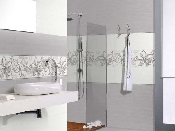 Pewter Ceramic Wall Tiles