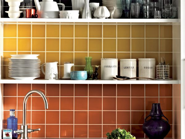 Johnsons Prismatics Brick Wall Tiles