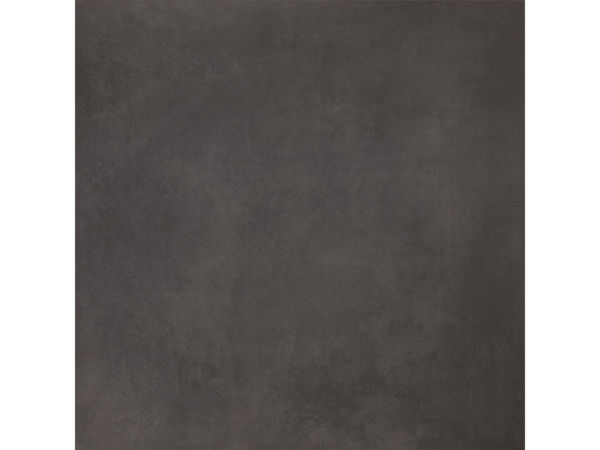 Large format black floor tiles