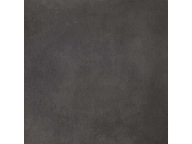 Large format black floor tiles