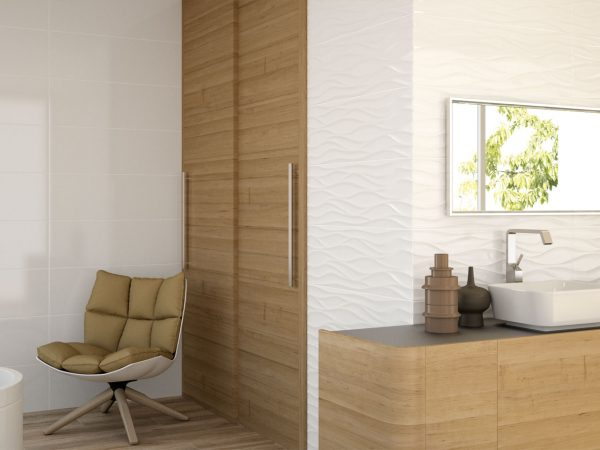 Wave Glass Wall Tiles