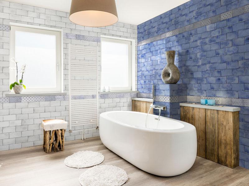 Zest White Plain 200x100 Wall Tile | Ceramic Wall Tiles ...